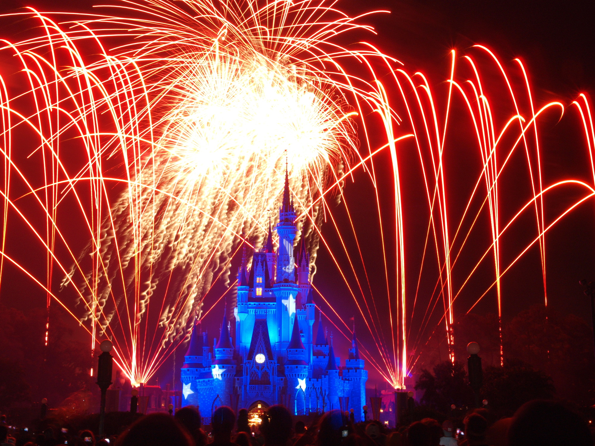 Magic Kingdom - Wishes Fireworks