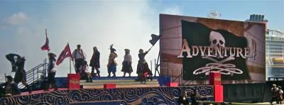 Disney Dream - Christening Ceremony