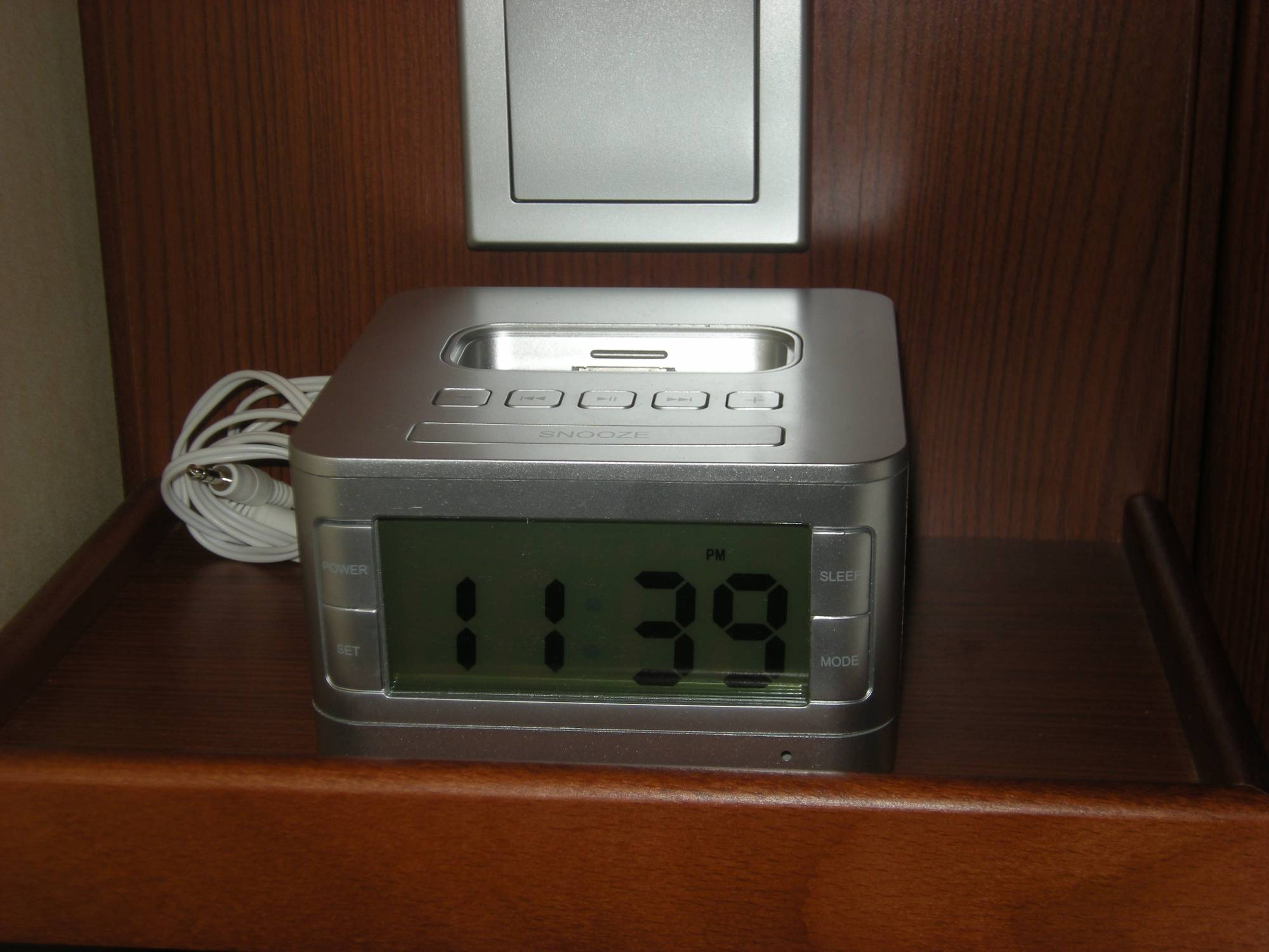 Disney Dream - Close-Up of iPod Player in Stateroom