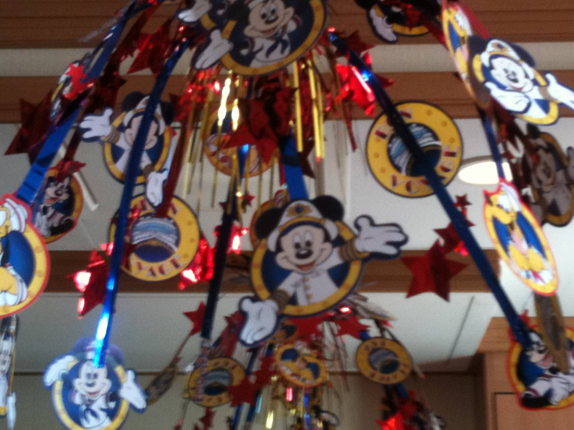 Disney Dream - Stateroom Decorations