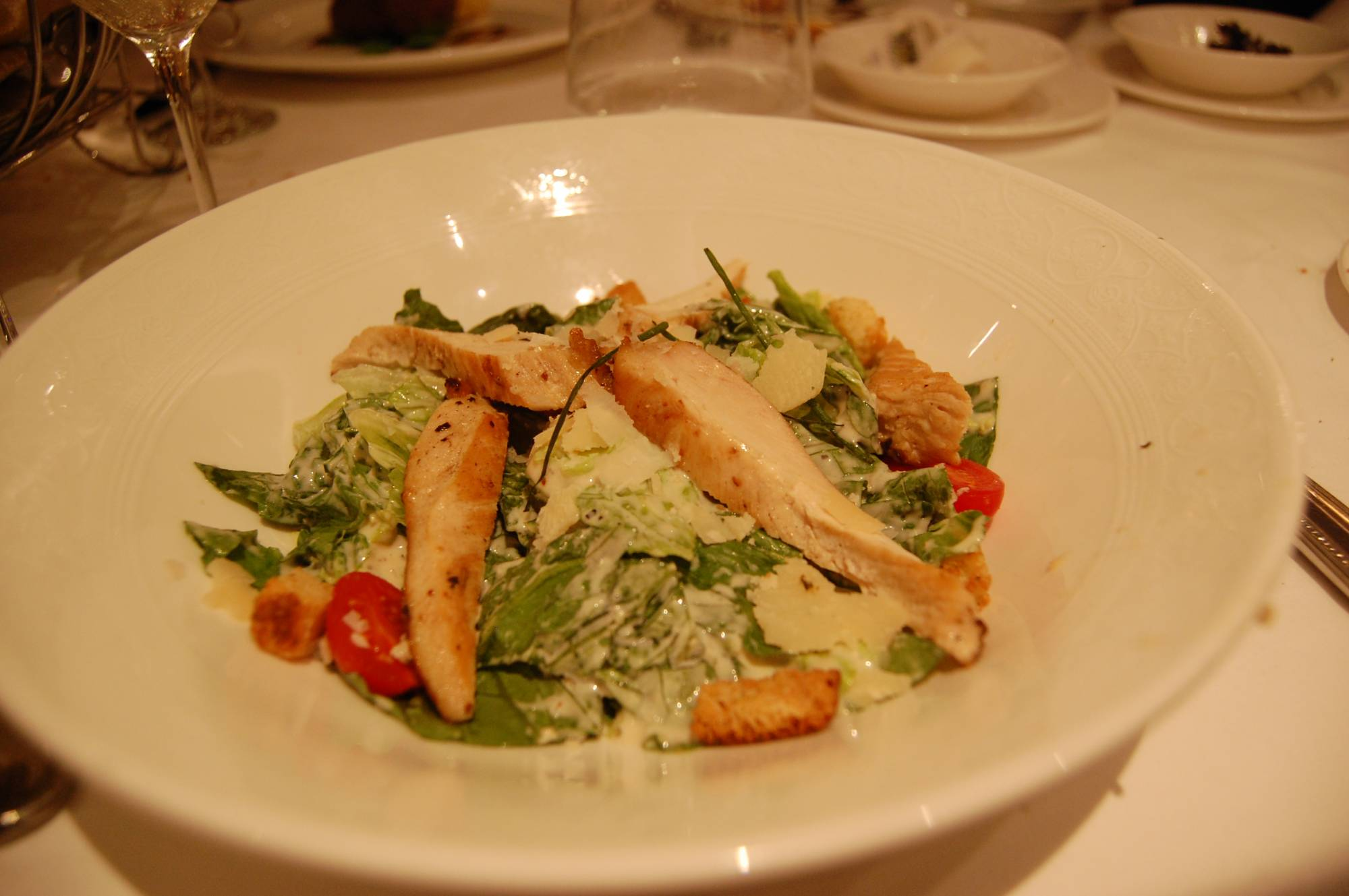 Royal Palace-Entree-Grilled Chicken Breast Salad