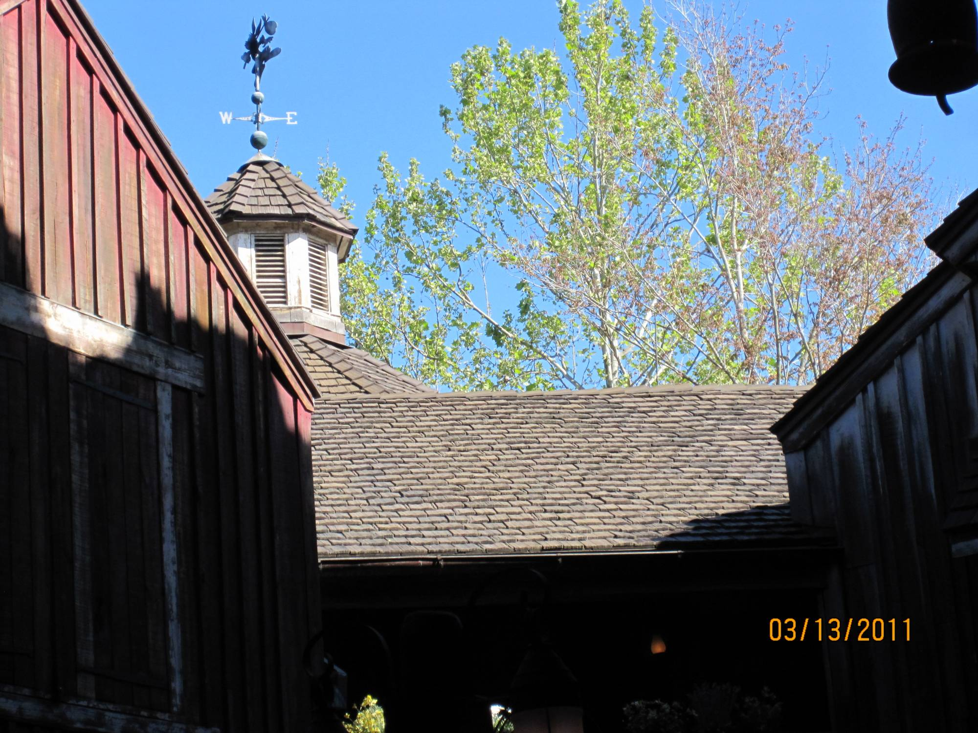 Frontierland Looking Up!