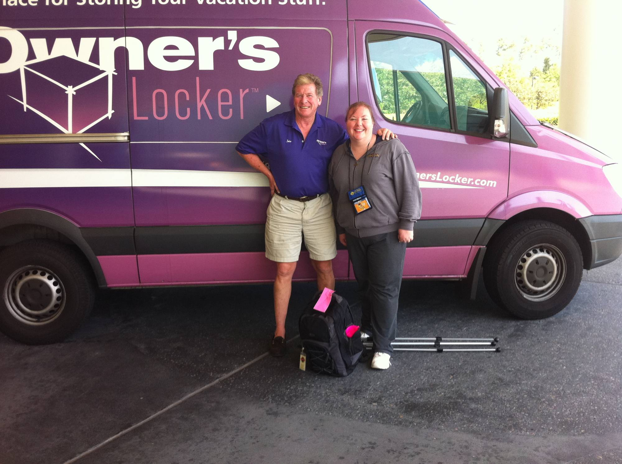 Jennifer and John from Owners Locker