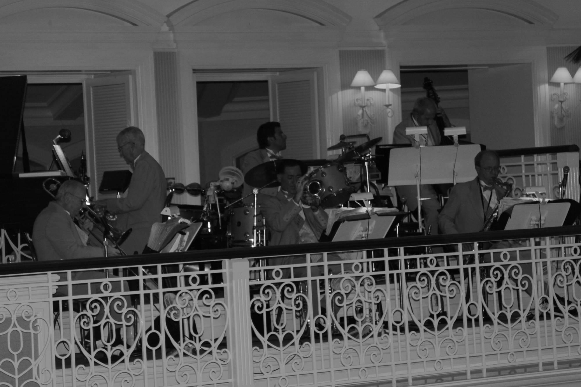 Band In GF Lobby