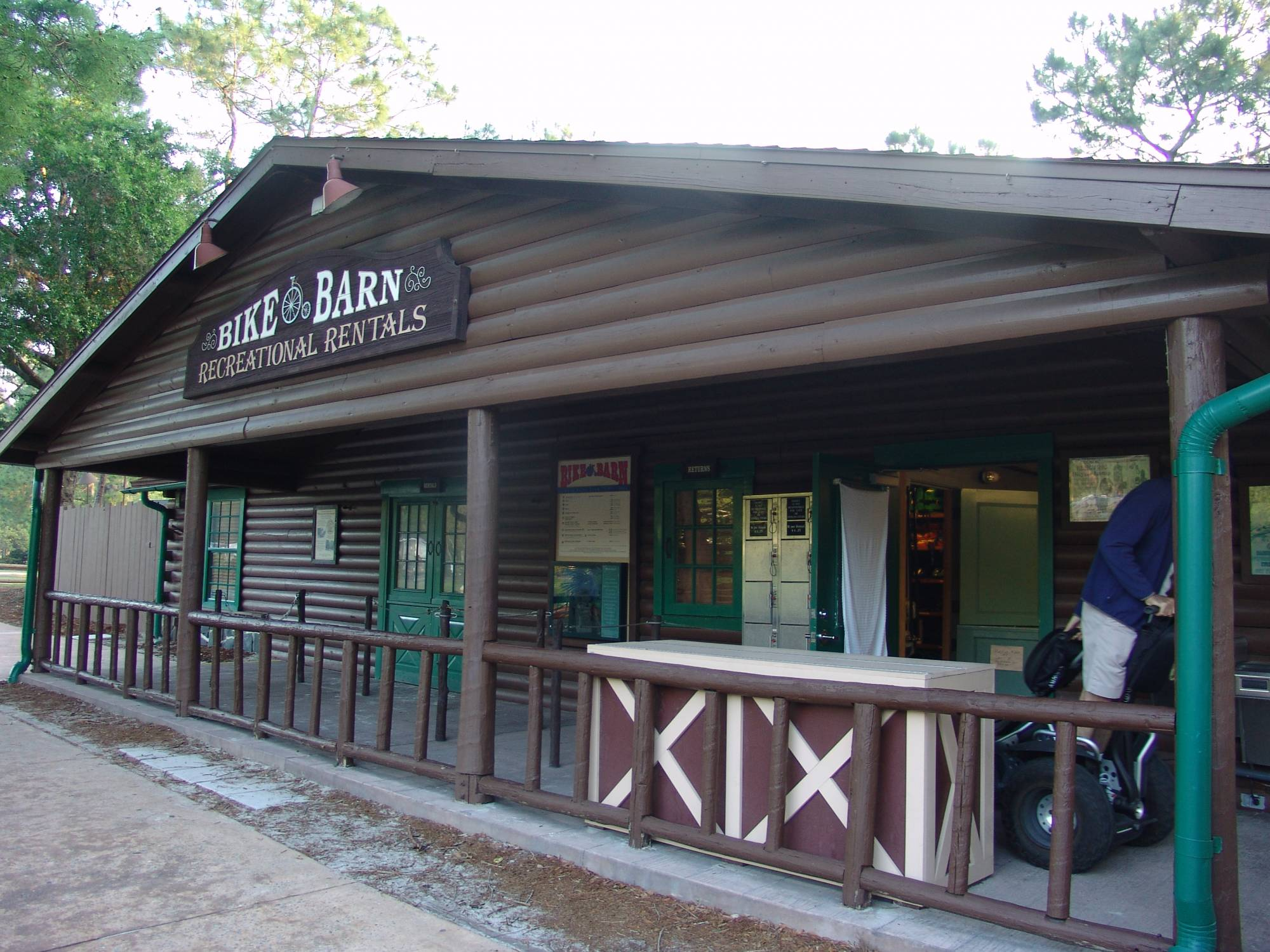 Fort Wilderness - Bike Barn