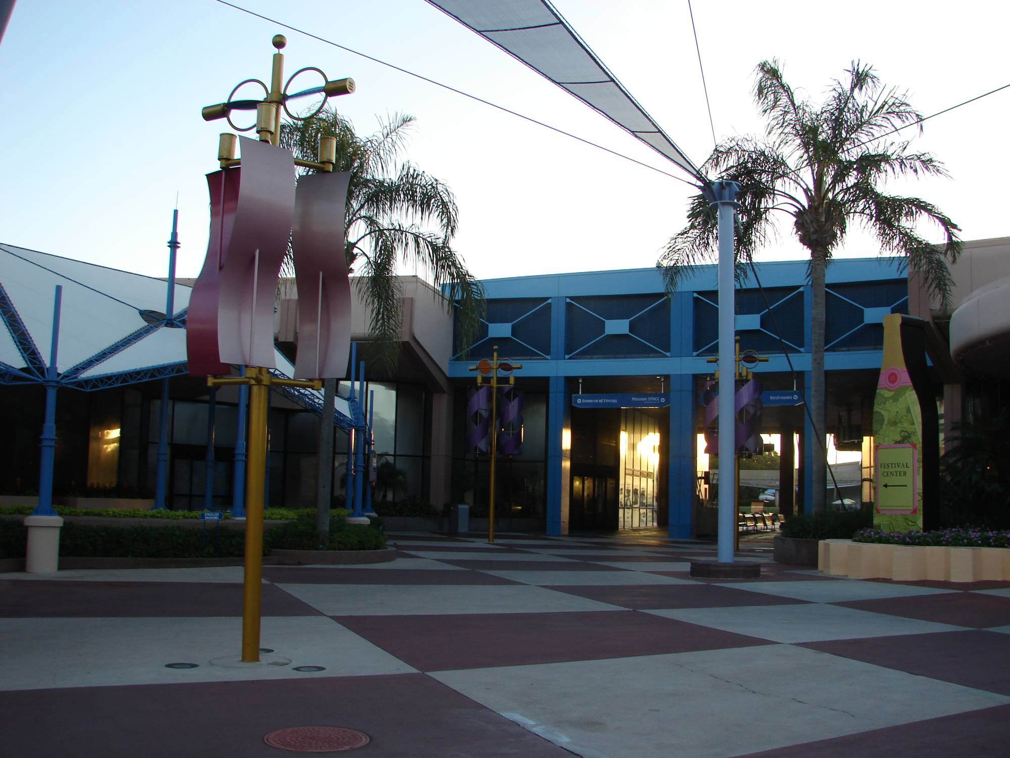 A quiet morning at Innoventions