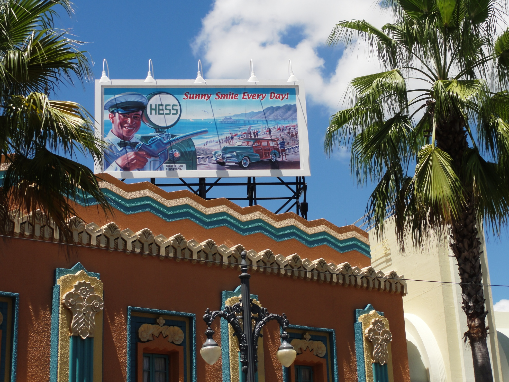 Hollywood Studios - Vintage Hess Billboard