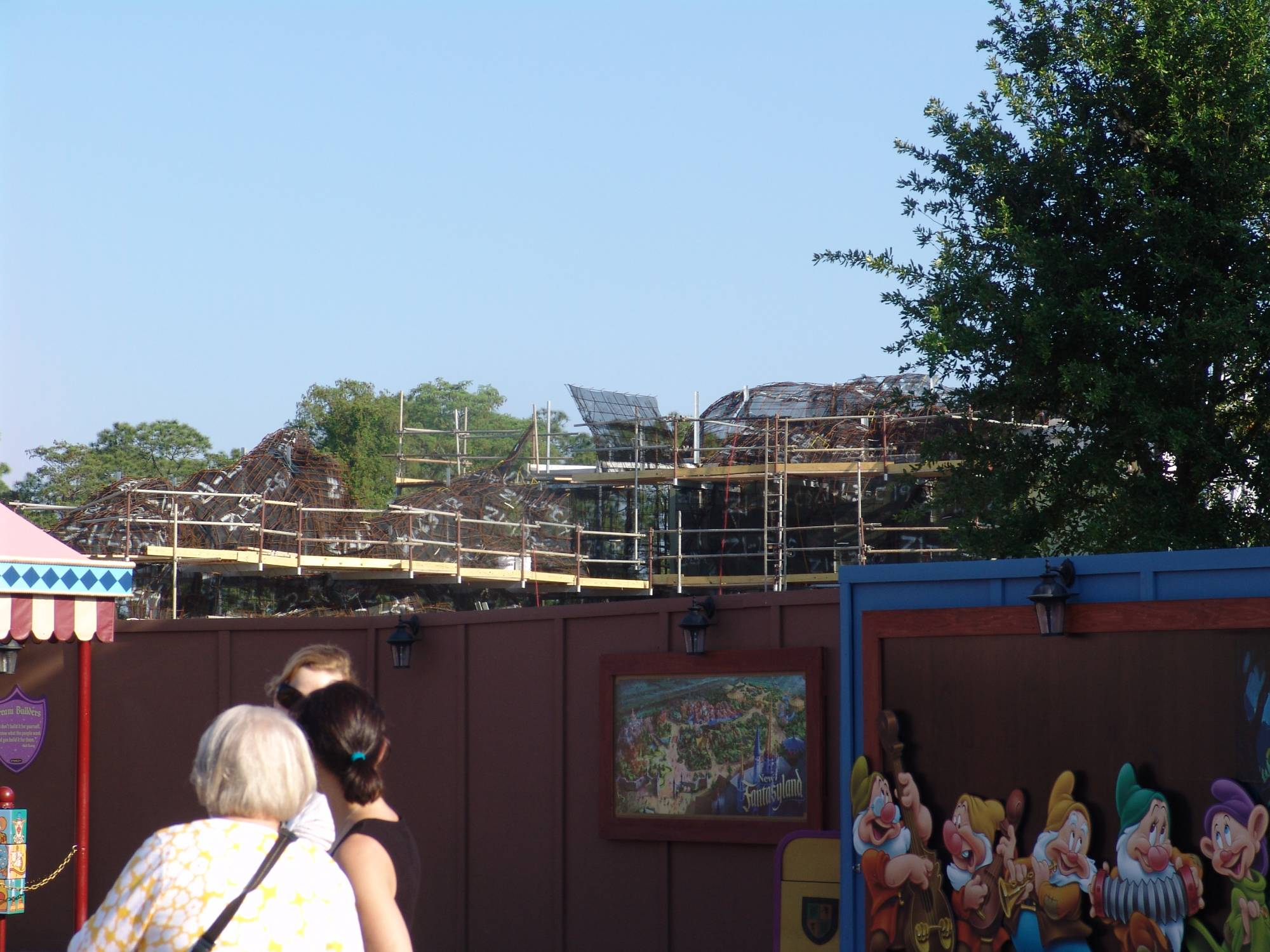 Magic Kingdom - Fantasyland expansion construction