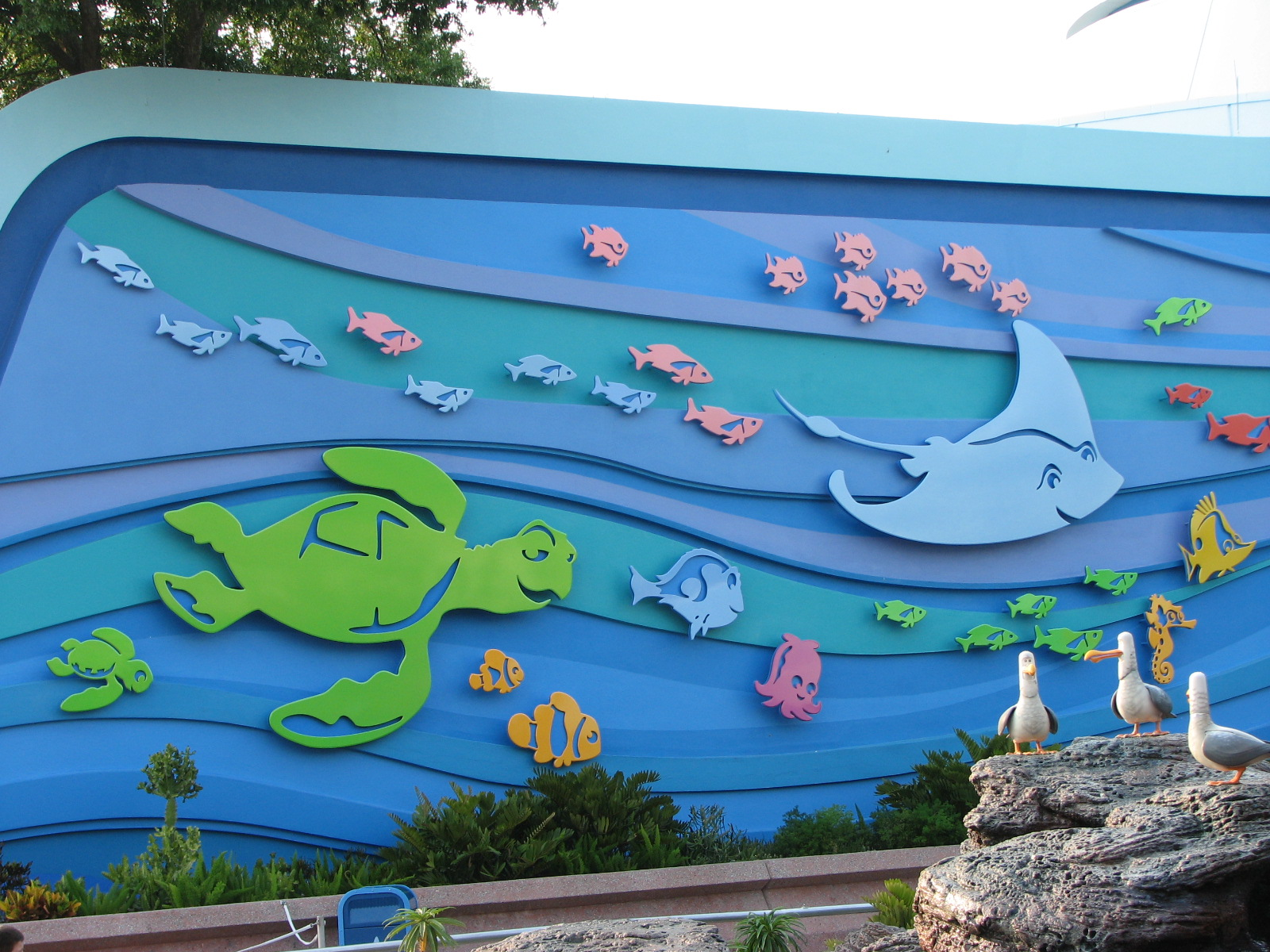 EPCOT - The Seas with Nemo & Friends - Entrance
