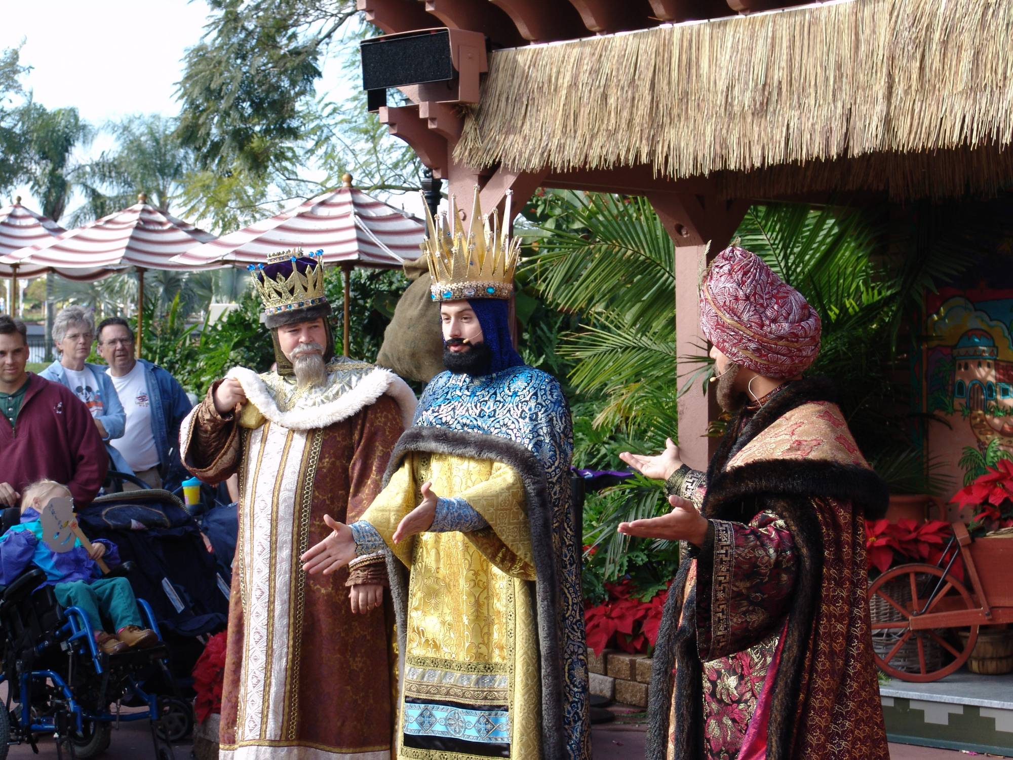 Epcot - Mexico Christmas storytellers