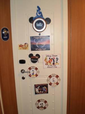 Disney Dream Decorated Stateroom Door Passporter Photos