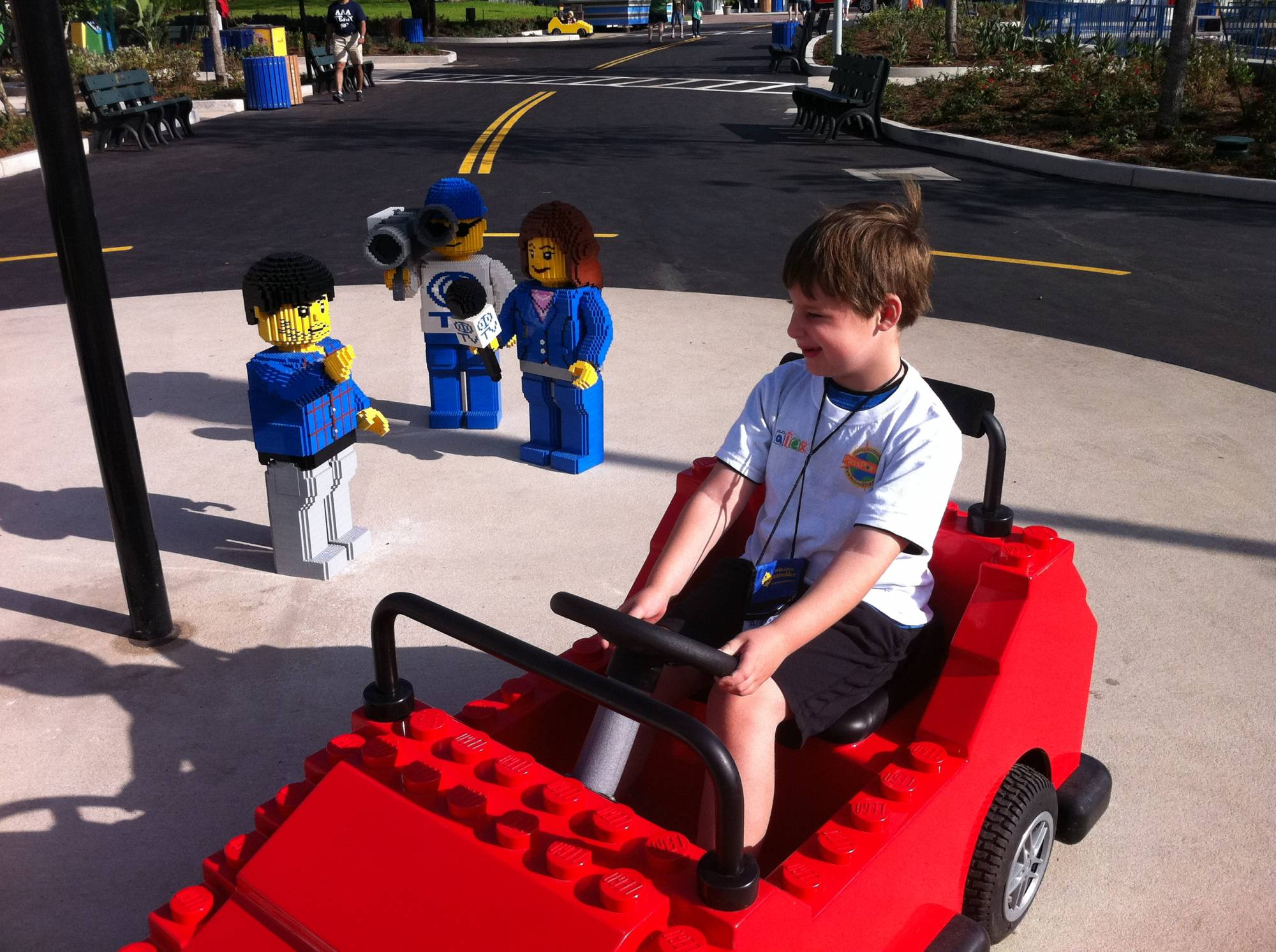 LEGO Car at LEGOLAND Florida