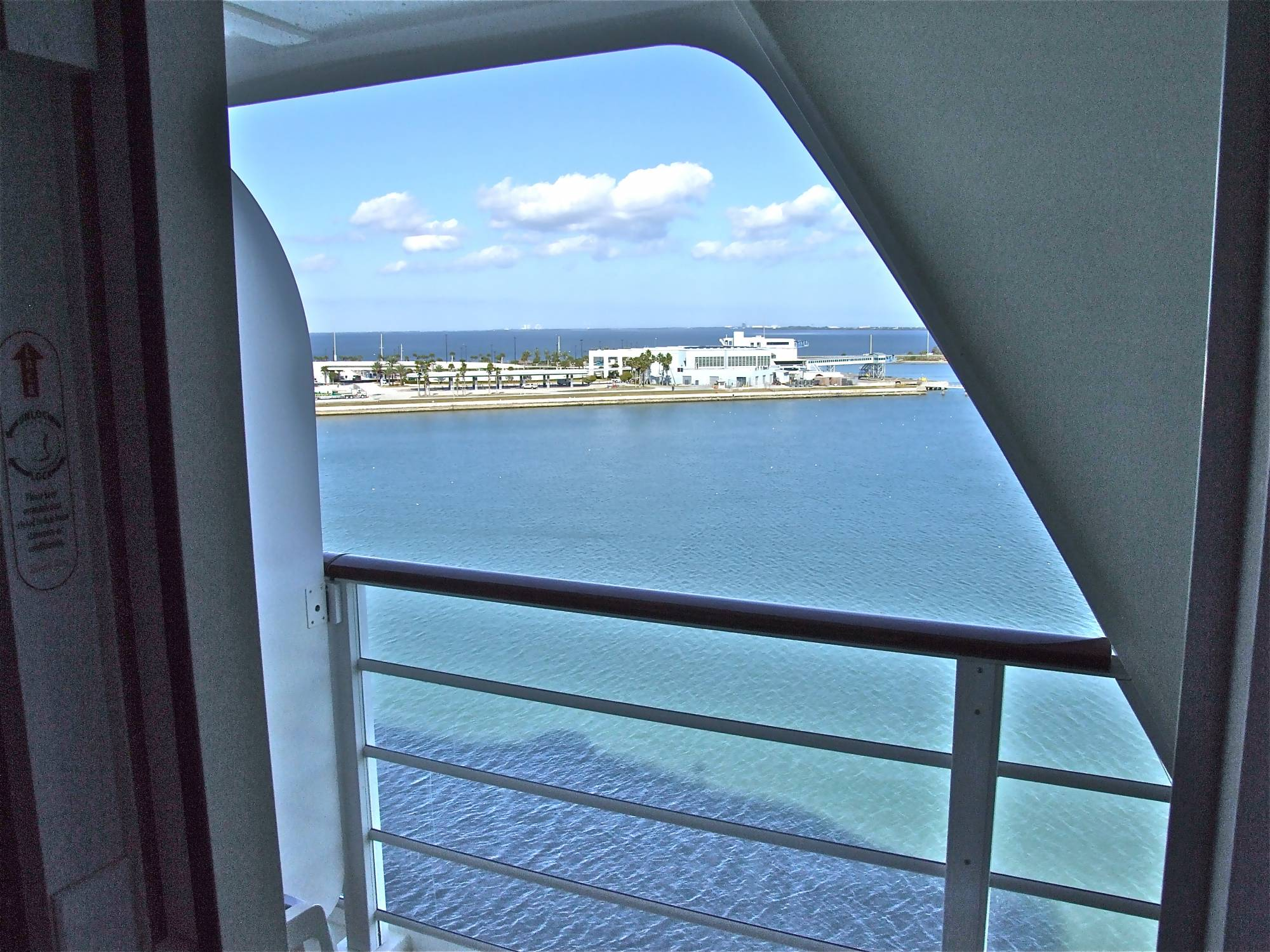 Disney Dream - View from Navigator's Verandah