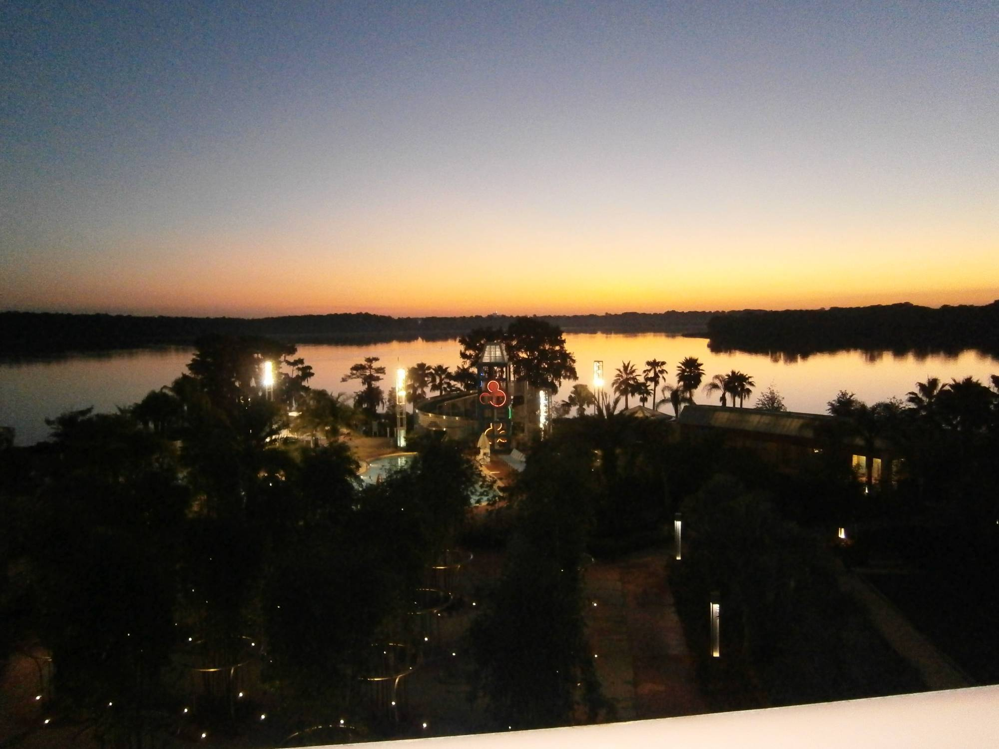 Bay lake Towers view