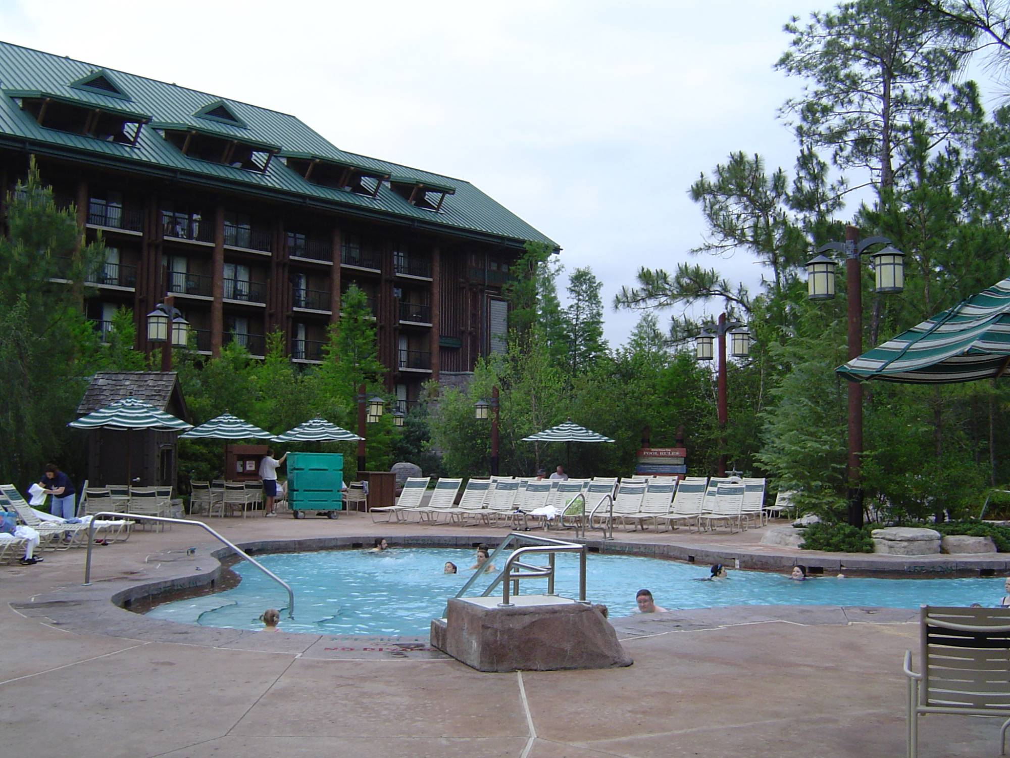 Random - Wilderness Lodge - DiningWilderness Lodge Pool Slide