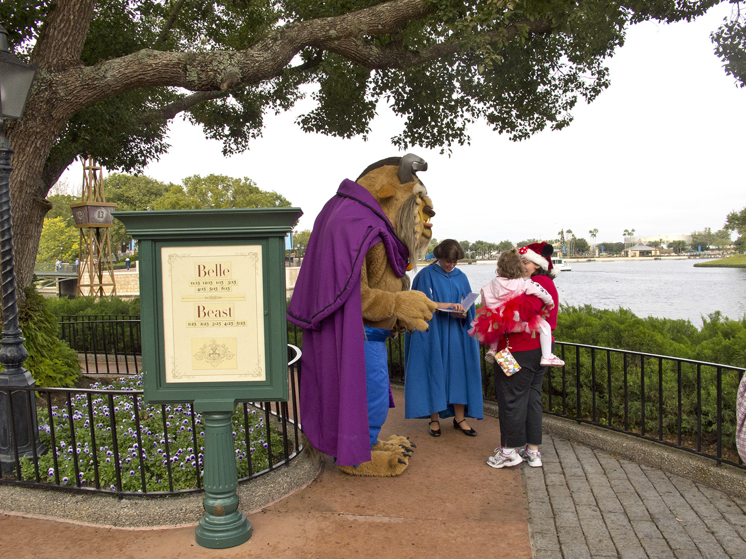 Epcot - Characters