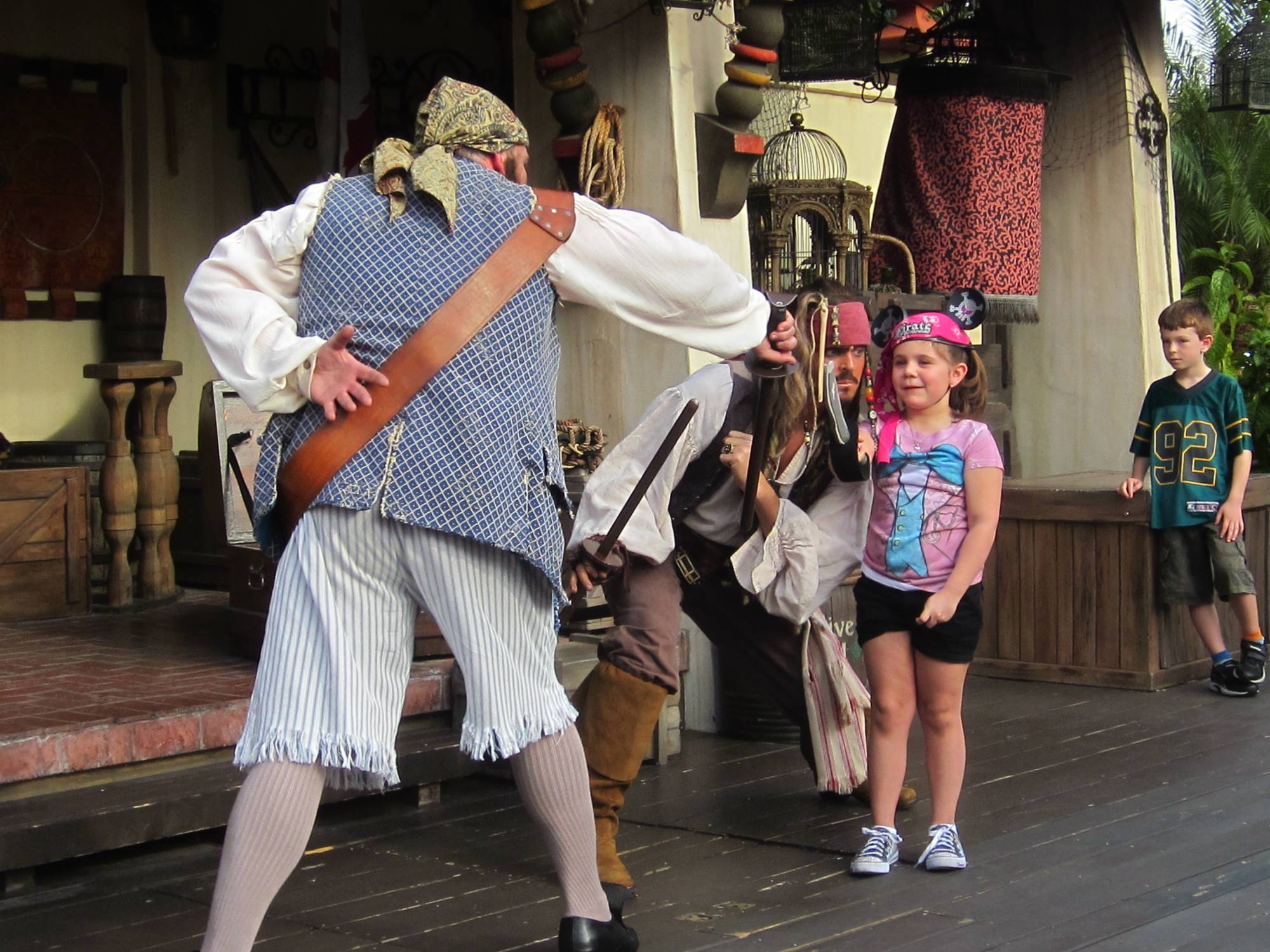 Leilani's Pirate Training