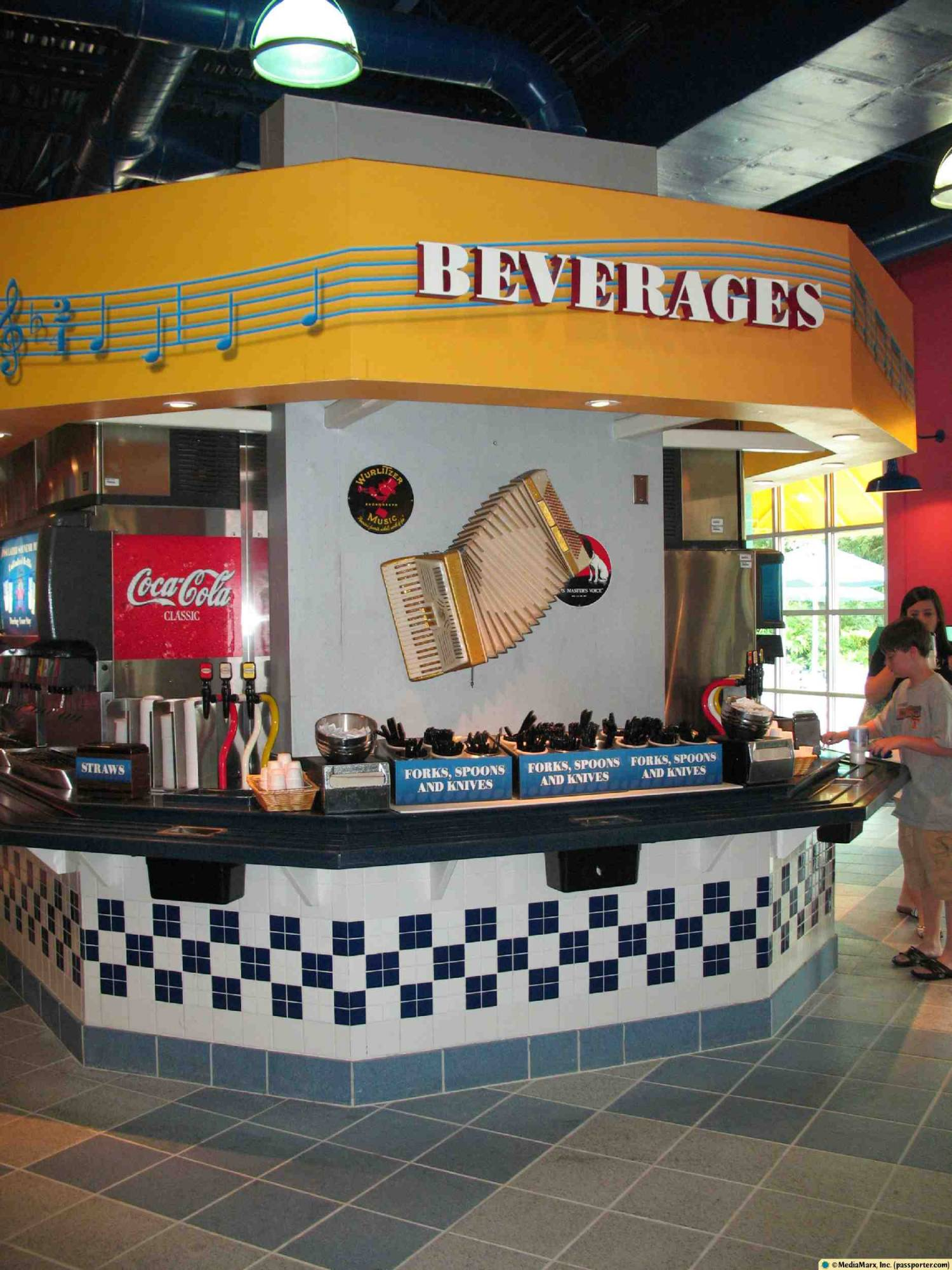 All-Star Music - Beverage Station