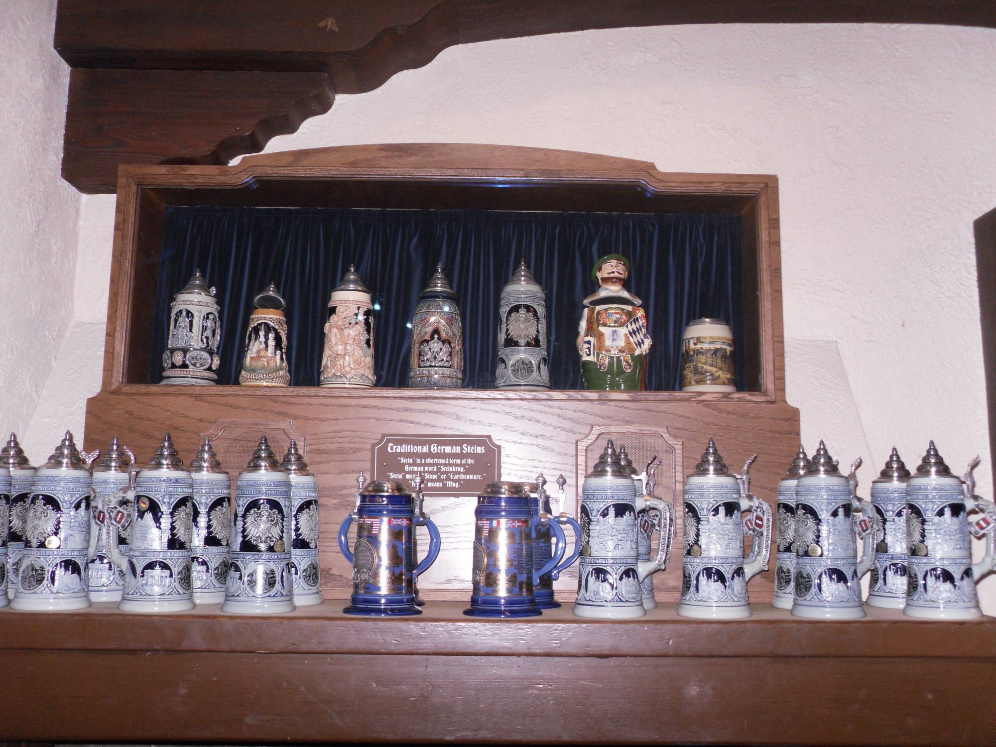 Beer steins in Germany
