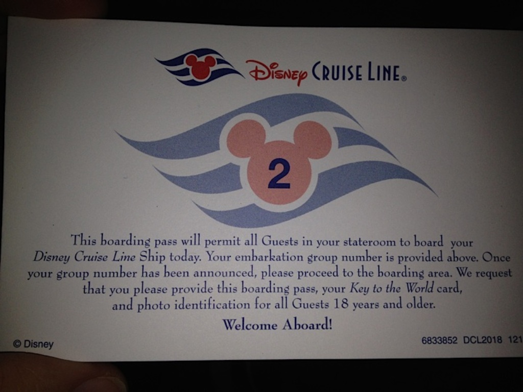 Boarding Number 2!