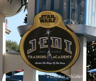 Jedi Training Sign