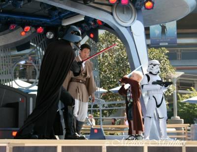 Jedi Training Battle