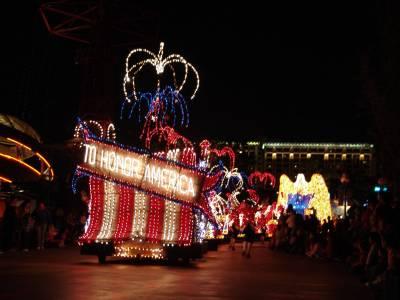 California Adventure - Electrical Parade