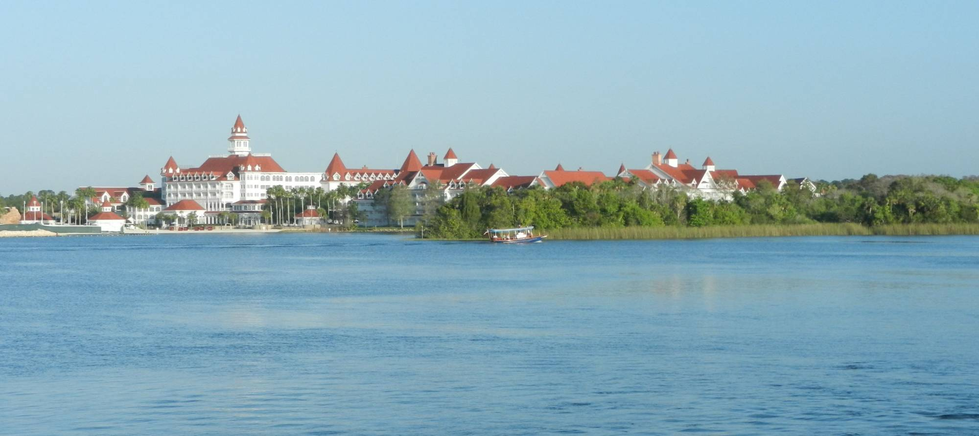 Waiting for the Ferry - View of Grand Floridian