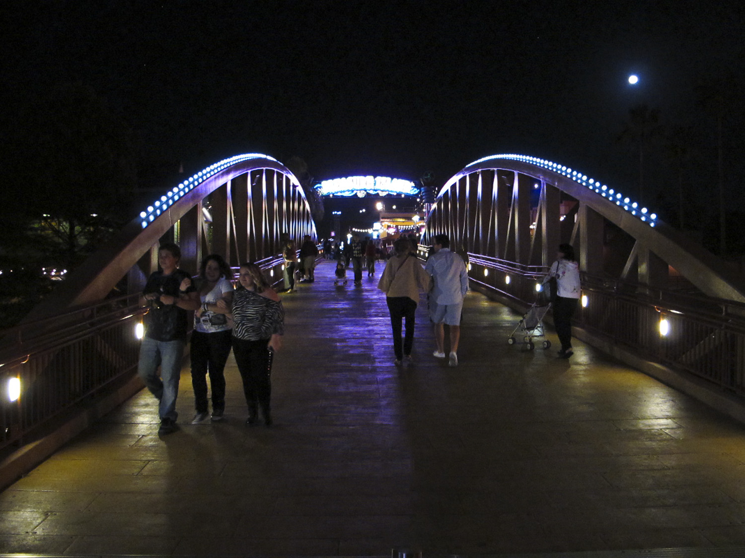 Downtown Disney - Bridge