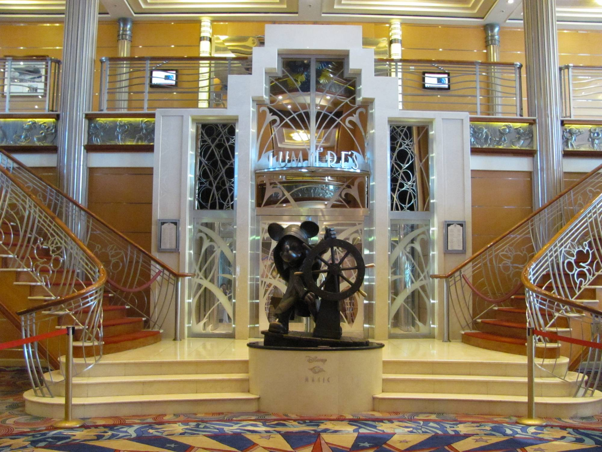 Disney Magic Lobby Atrium