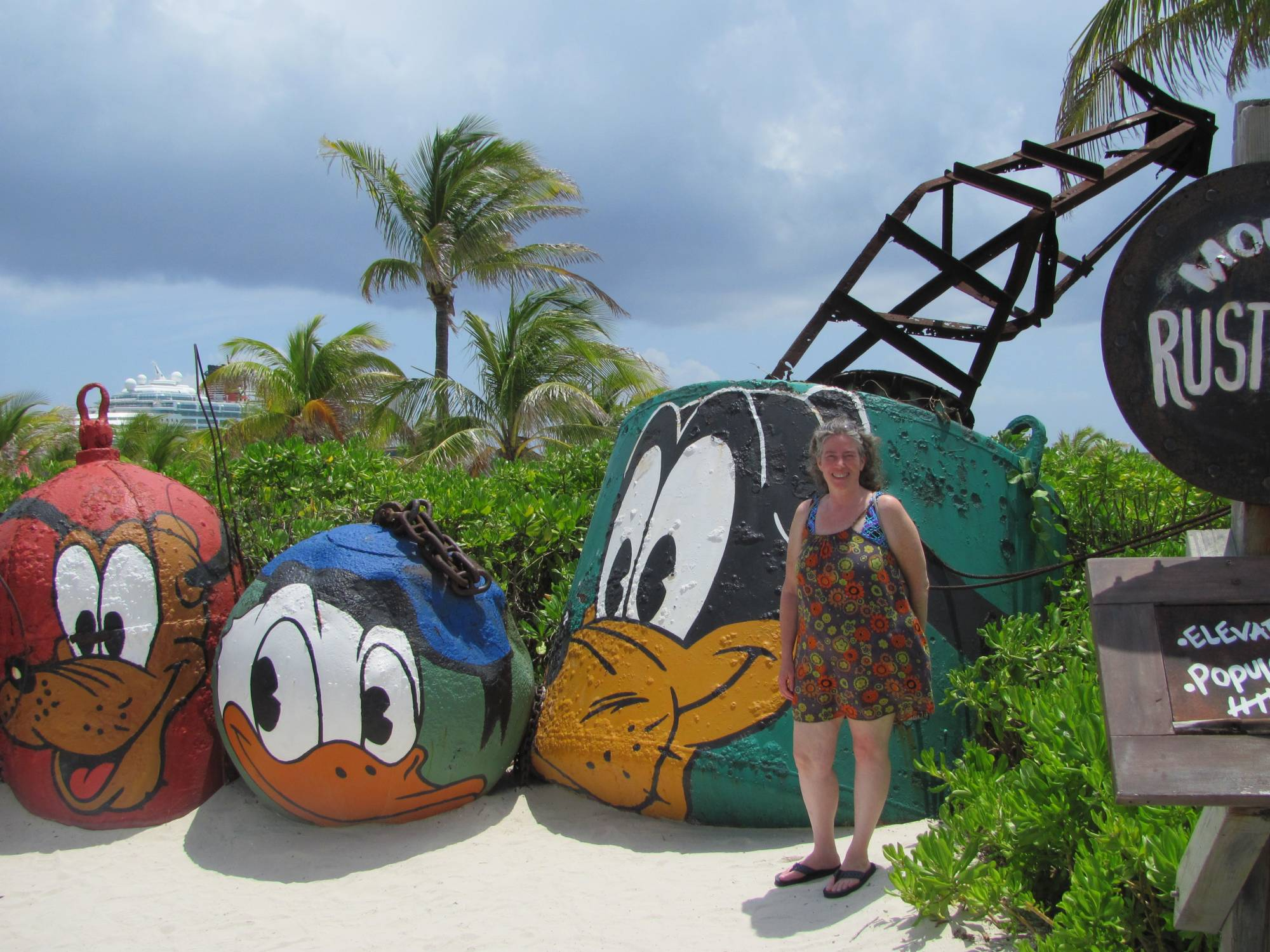 Mount Rustmore at Castaway Cay