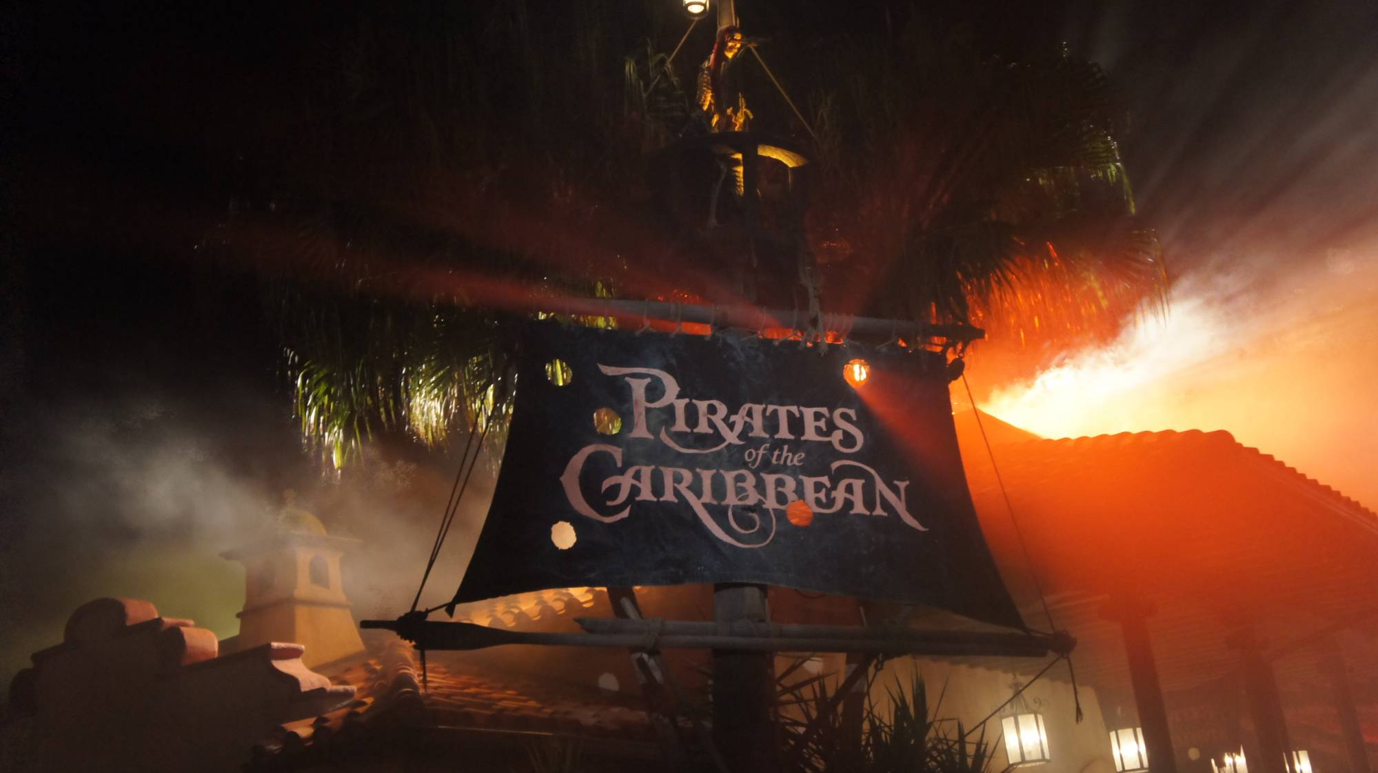 Pirates of the Caribbean at Night