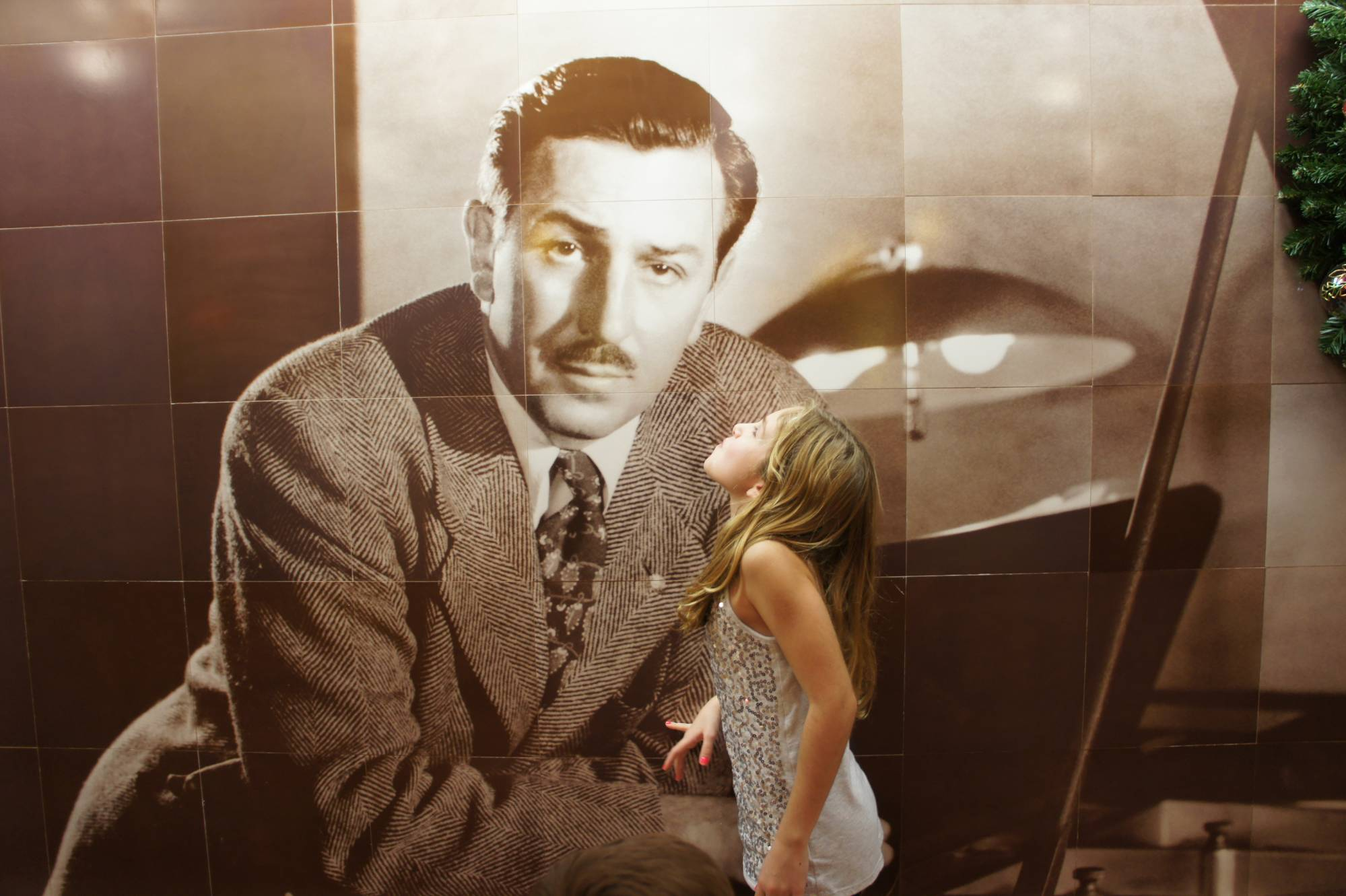 A Kiss for Walt Disney