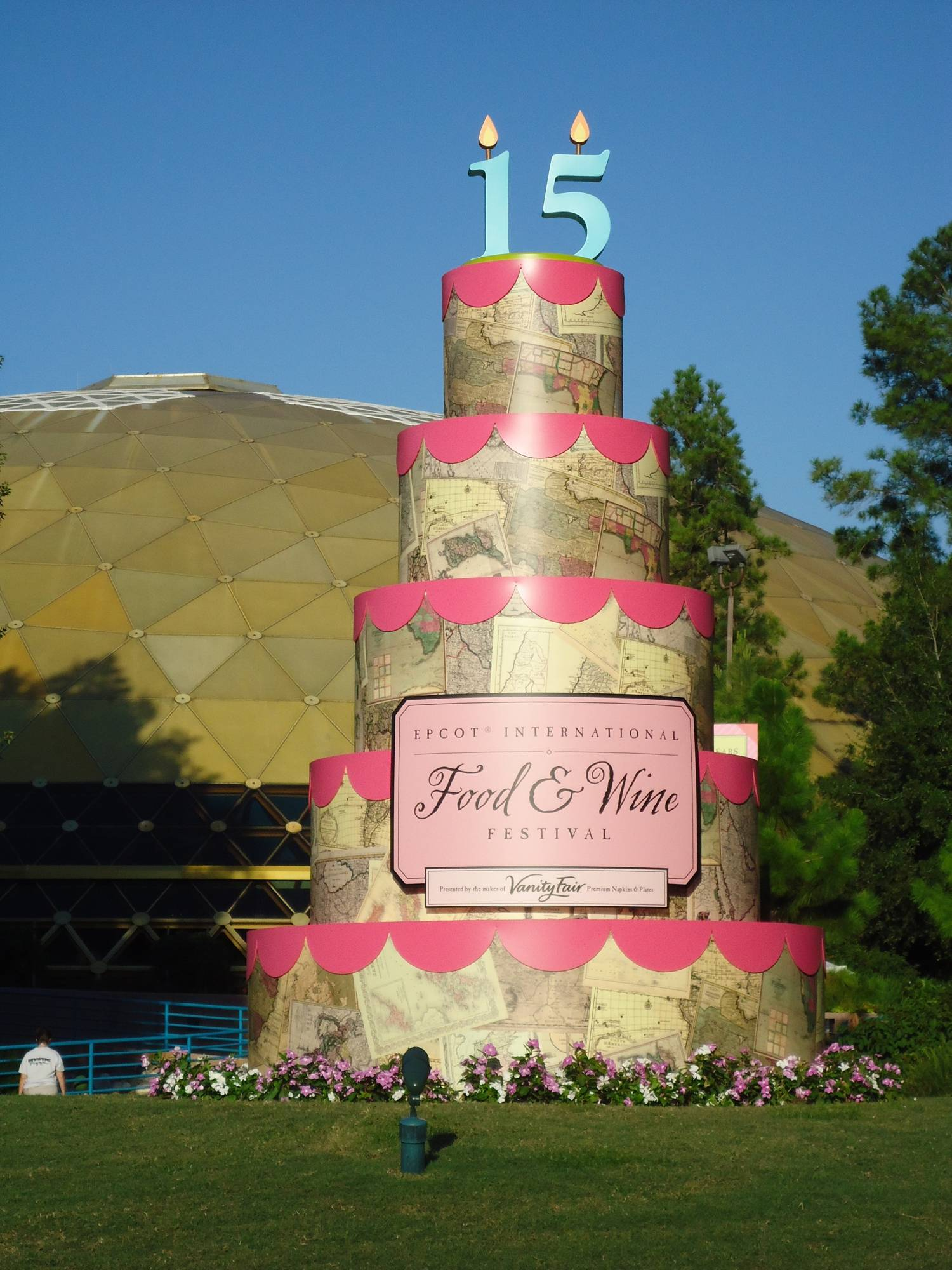 Food and Wine Festival Cake at Epcot