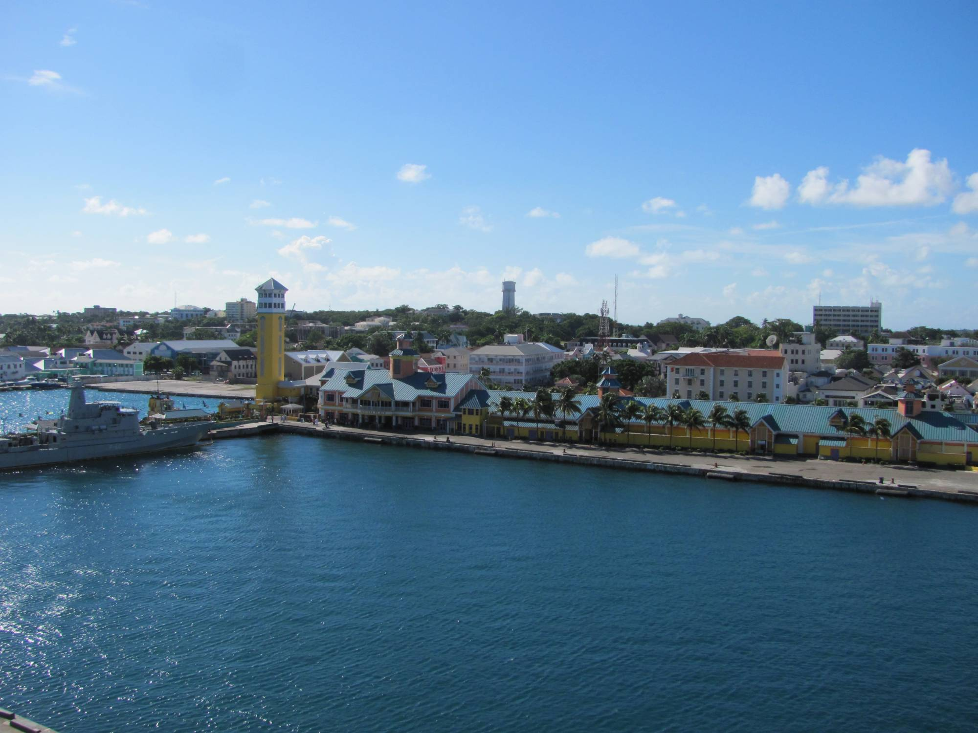 Nassau from the Disney Dream