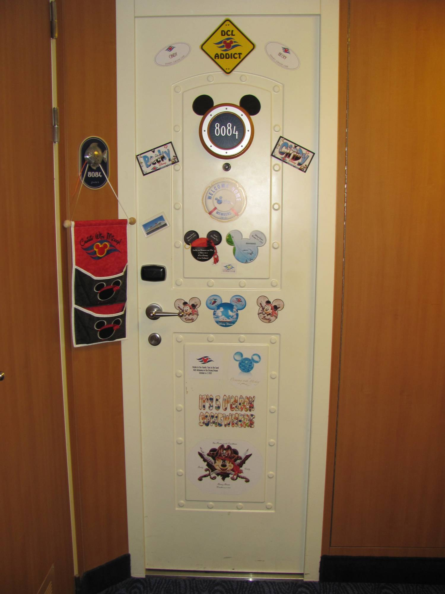 Disney Dream Stateroom Door