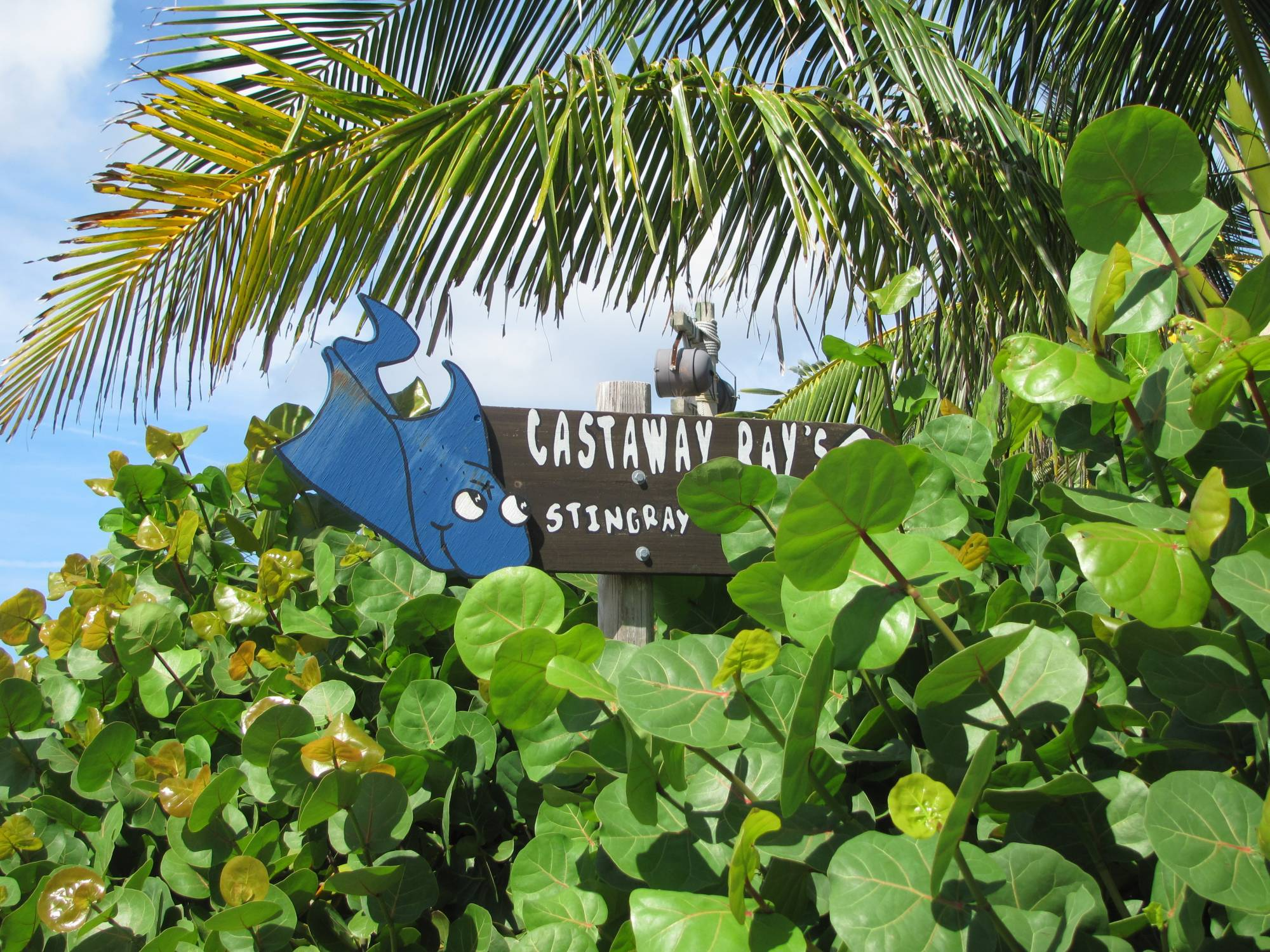 Sign on Castaway Cay