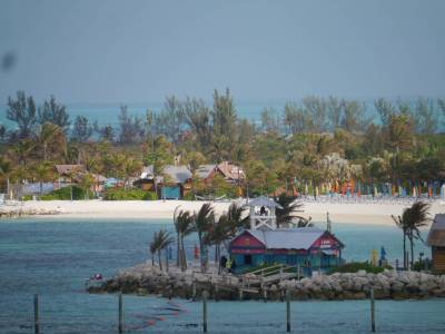 Castaway Cay on a windy day