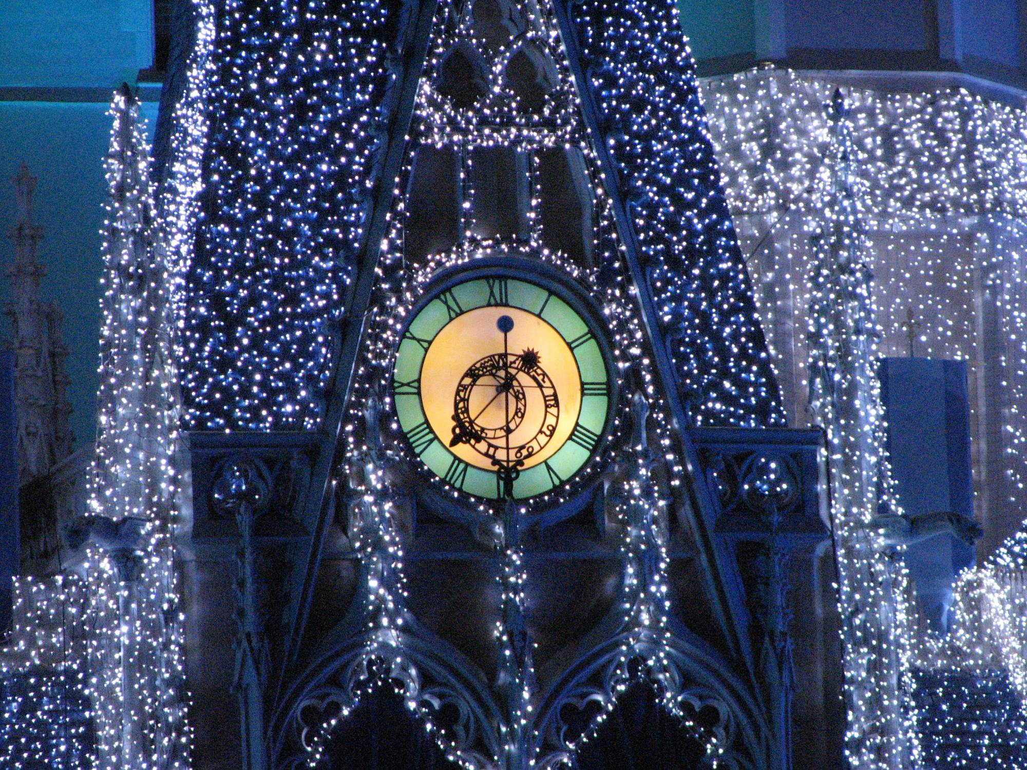 Magic Kingdom - Christmas 2007 - Iced Castle