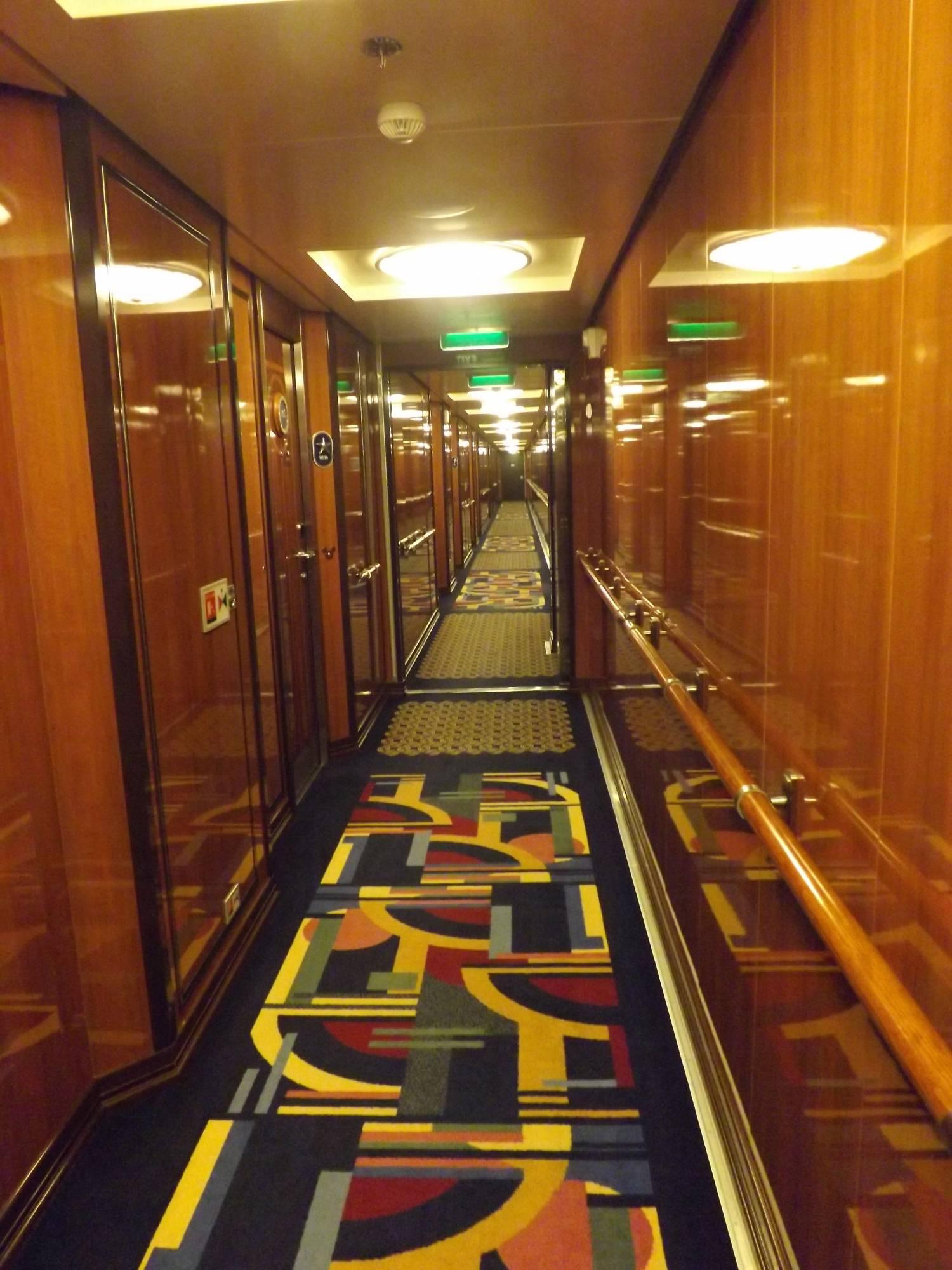 Concierge Stateroom Hallway