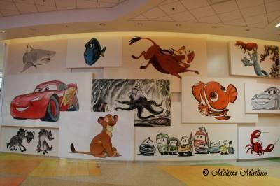 Animation Hall Art