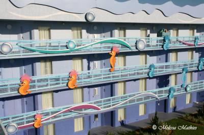 Littler Mermaid building exterior