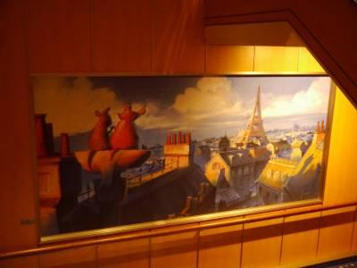 Disney Fantasy - Remy painting