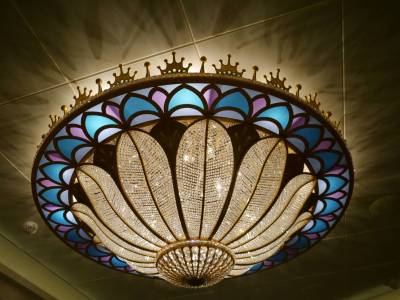 Disney Fantasy - Royal Court light fitting