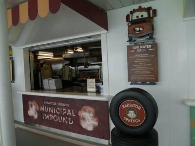 Disney Fantasy - Tow Mater Grill