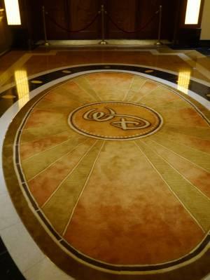 Disney Fantasy - Walt Disney carpet