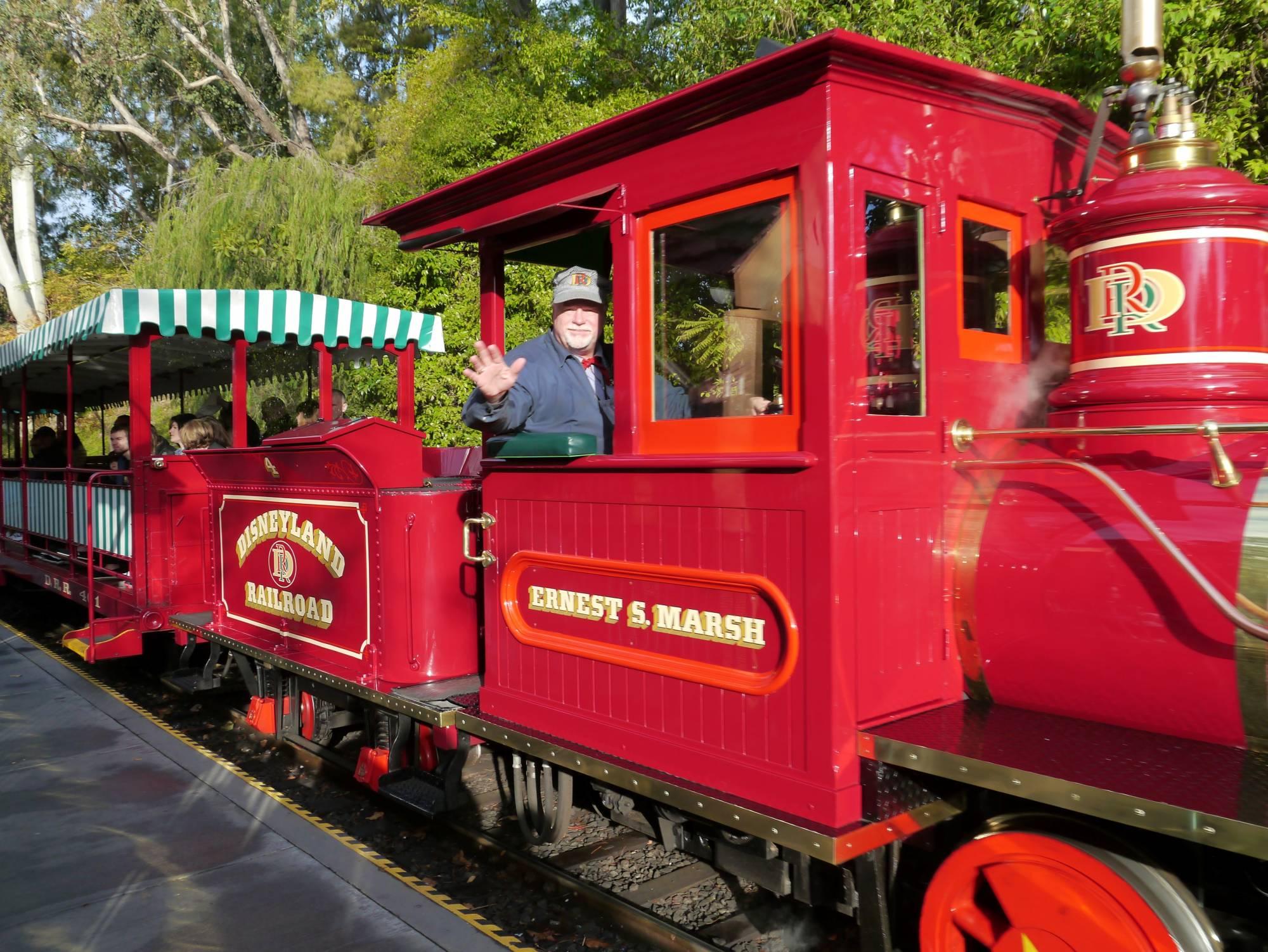 Disneyland Park - Railroad