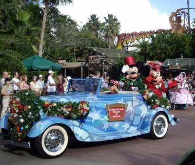Hollywood Studios - Holly-days Parade Grand Marshall