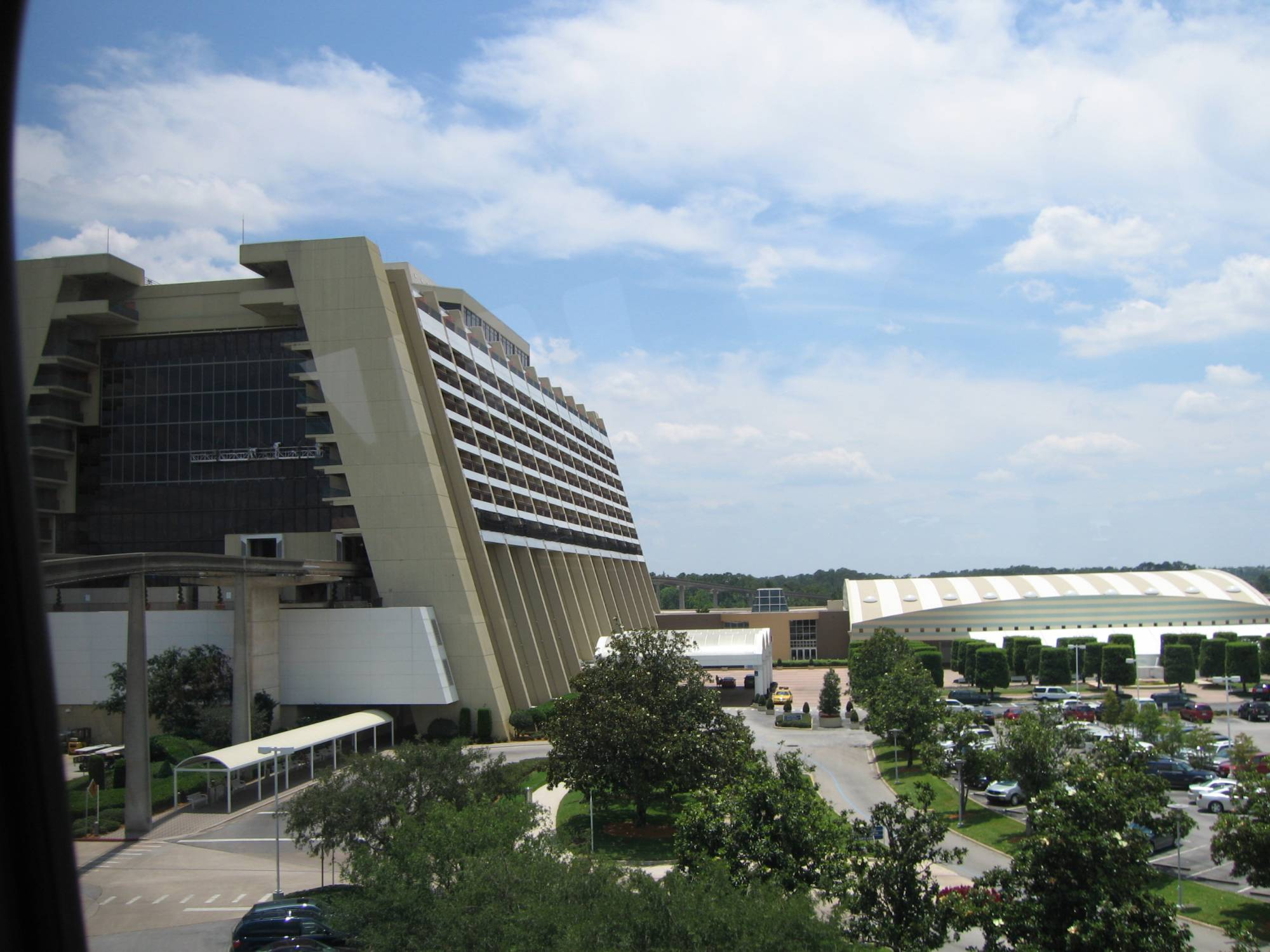 Contemporary - view from monorail