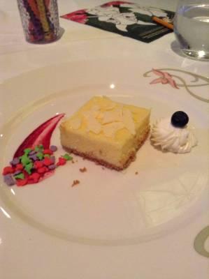 Dessert at Animator's Palate